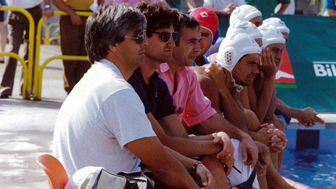 Dragan Matutinovic, durante los Juegos Olímpicos de Barcelona 92.