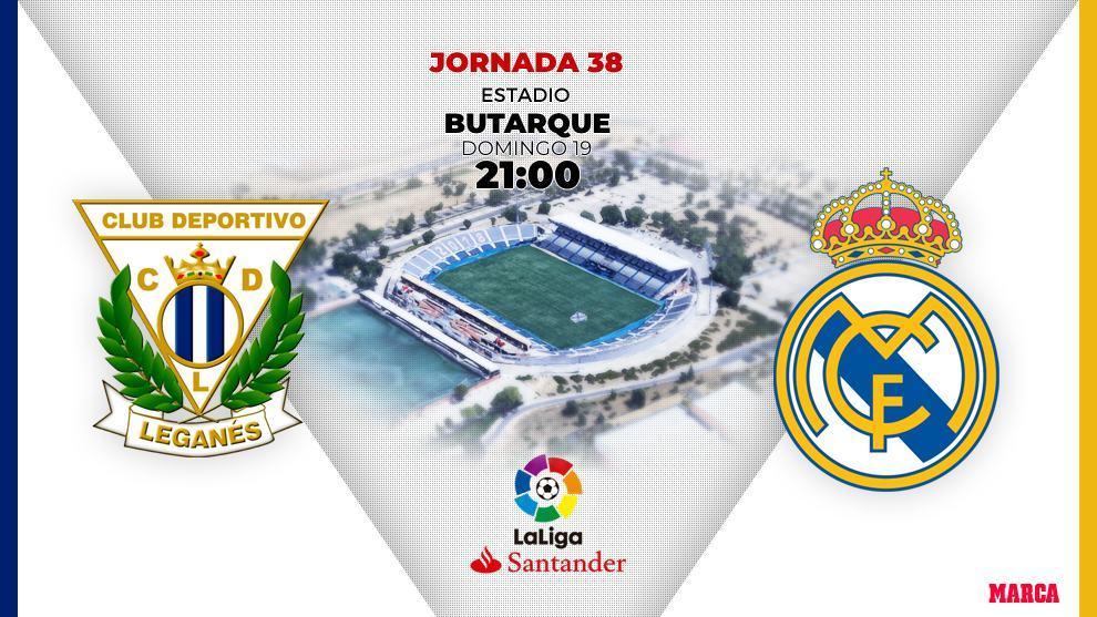 Alineaciones confirmadas del Leganés-Real Madrid: Areola titular y Benzema a por el 'imposible' del Pichichi