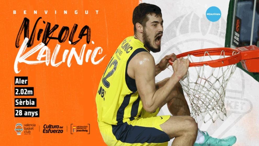 Nikola Kalinic, otro fichajón de un Valencia Basket que aspira a todo