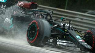 Lewis Hamilton, pole en el Gran Premio de Hungría de F1 2020.