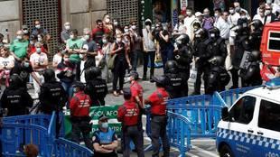 El partido de la vergüenza en Navarra
