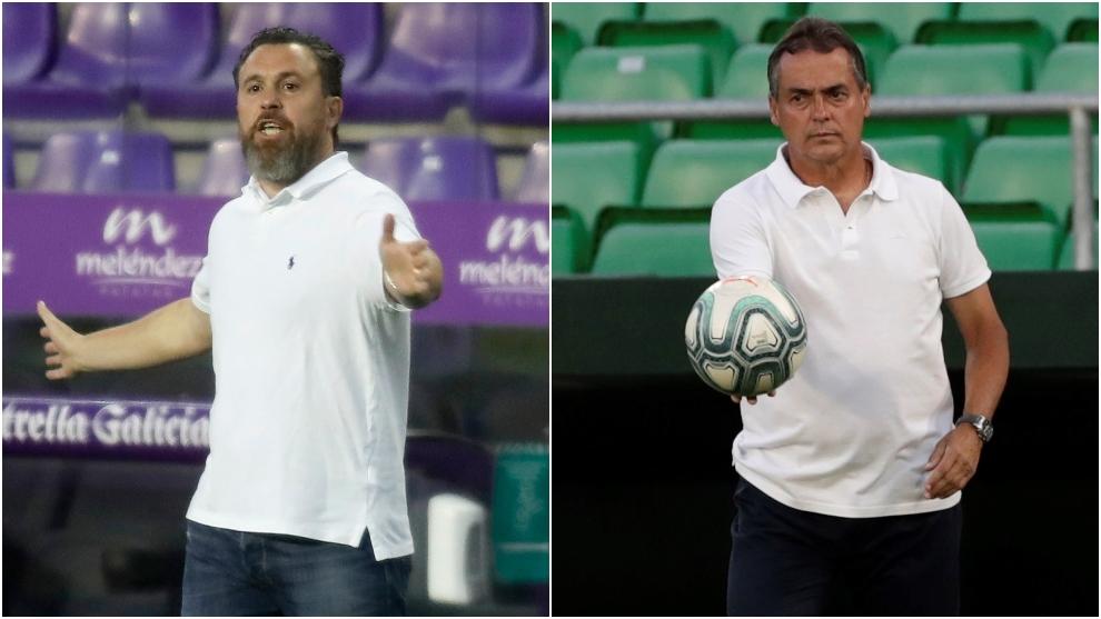 Los técnicos de Valladolid y Betis, listos para cerrar LaLiga