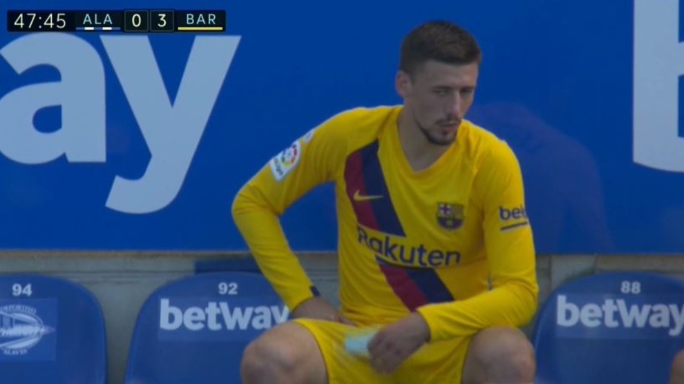 Lenglet forced off injured... and Vidal fills in at centre-back