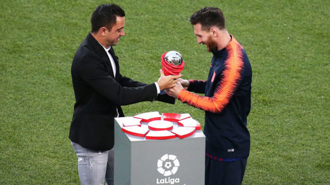 Messi breaks LaLiga Santander record for most assists in a season