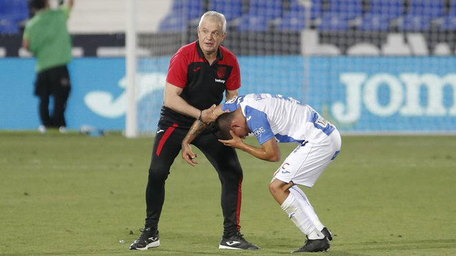 Javier Aguirre: I think this is my farewell to Leganes