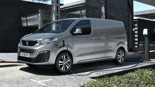 La versión eléctrica del Peugeot Expert.
