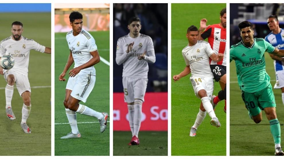 Las gangas del Madrid campeón de Liga: Carvajal, Varane, Casemiro, Valverde, Asensio...