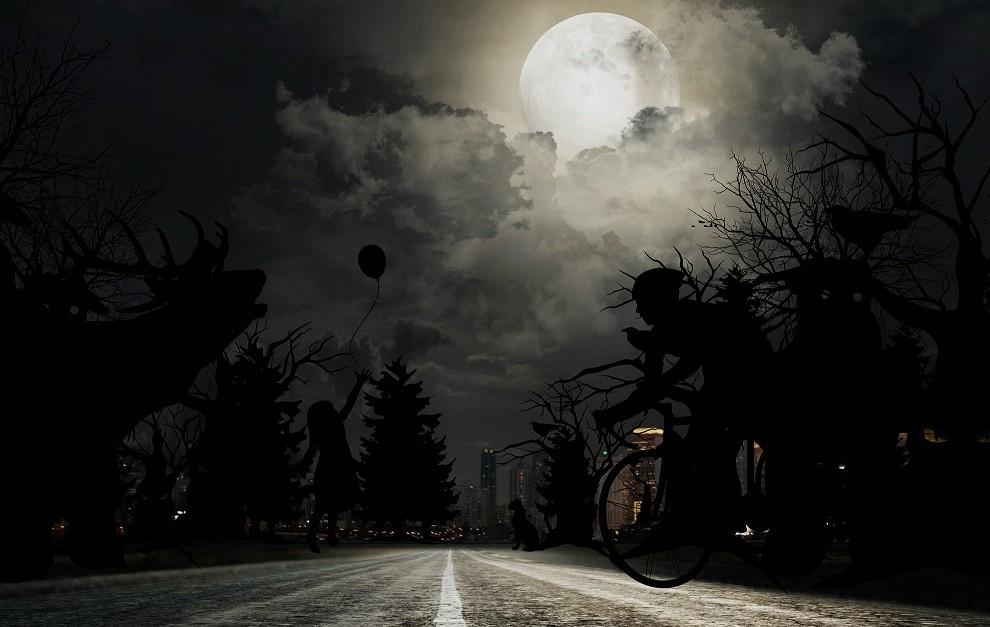 Por la noche, una cámara puede llegar donde el ojo humano no llega.