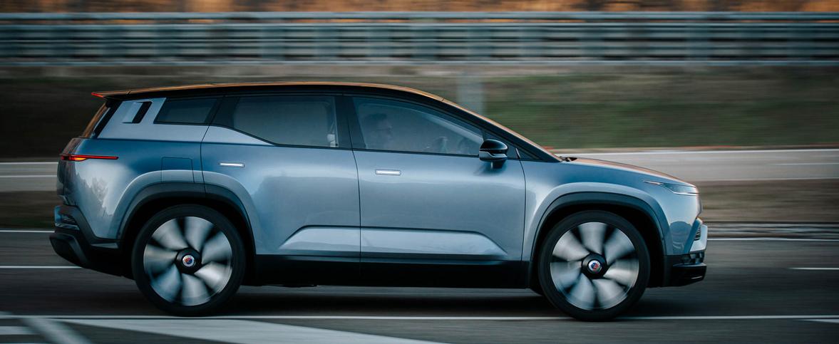 El Fisker Ocean será el primer SUV 100% eléctrico de la marca californiana.
