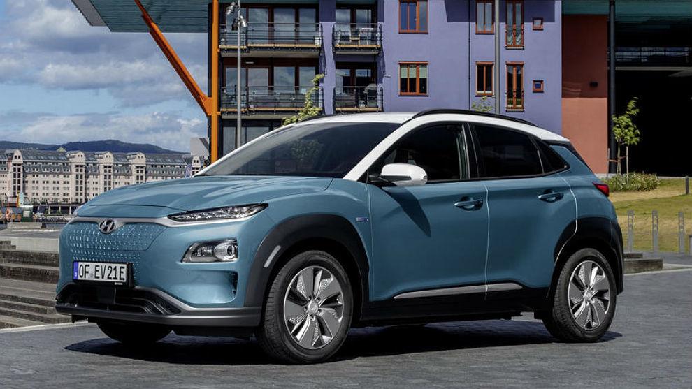 El Hyundai Kona eléctrico 'europeo'.