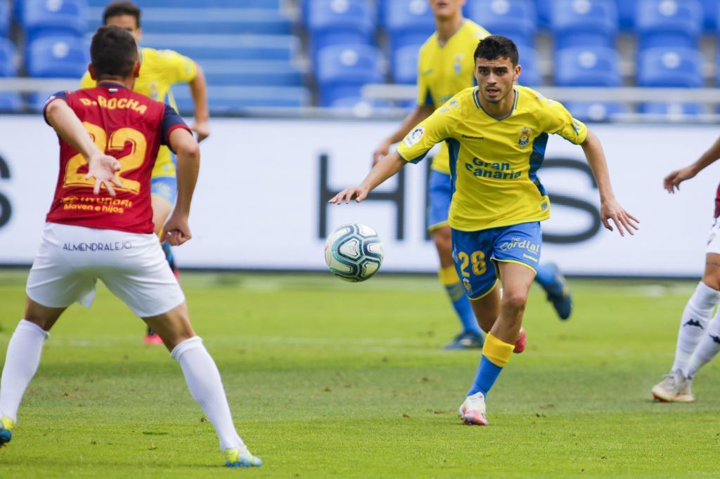 Pedri marcó en su último partido con la UD antes de irse al FC...