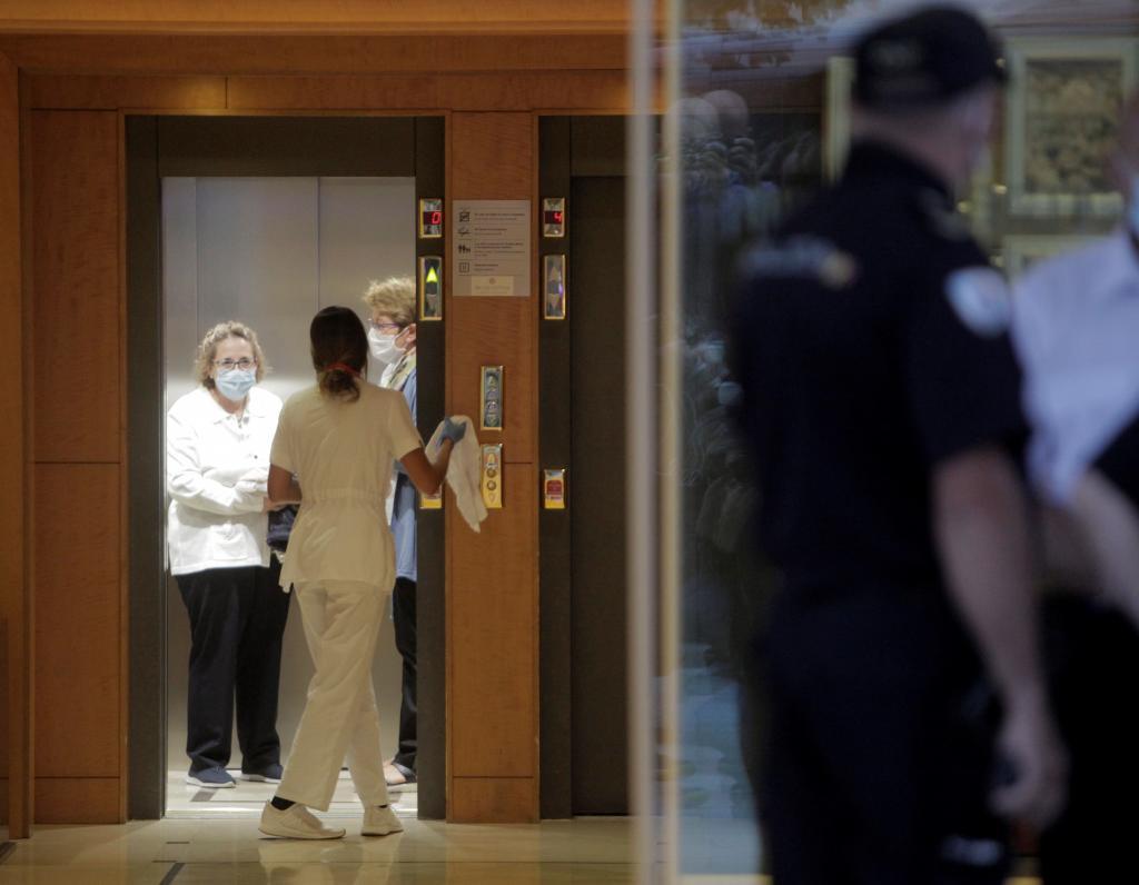 Hotel del concentración del Deportivo en Coruña