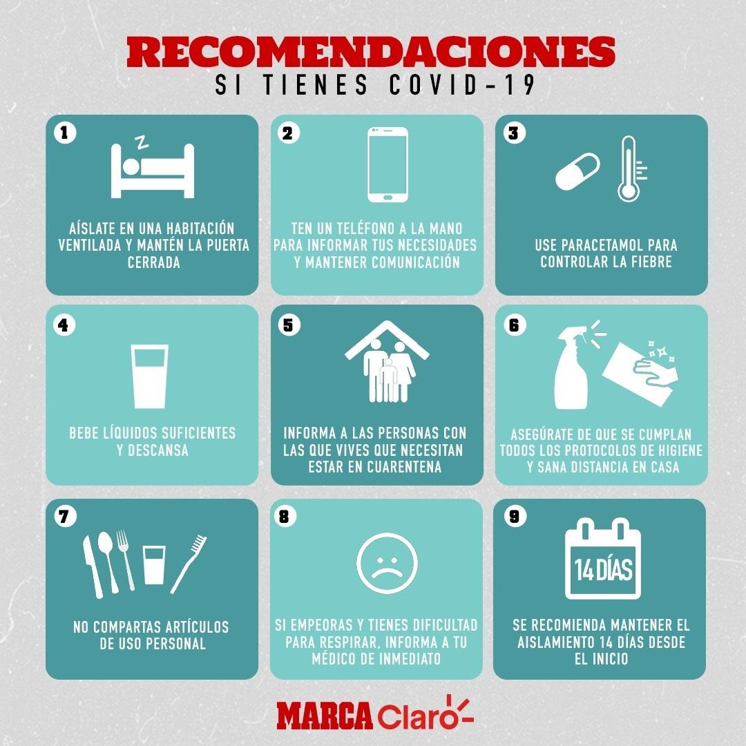 Los Siete Nuevos Sintomas Del Coronavirus Marca Claro Mexico