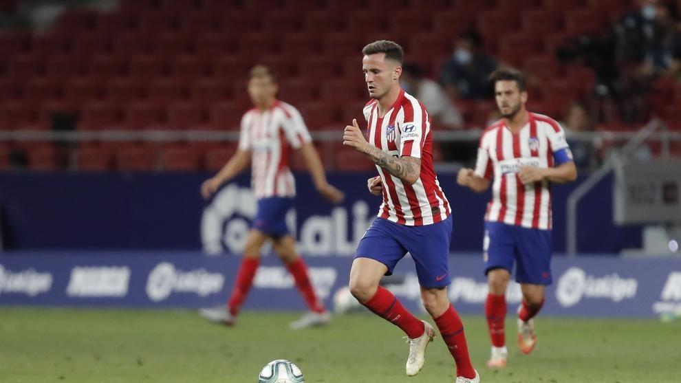 Saúl y Koke, en un partido del Atlético.