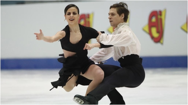 Sara Hurtado y Kirill Jalyavin, durante el último Europeo.