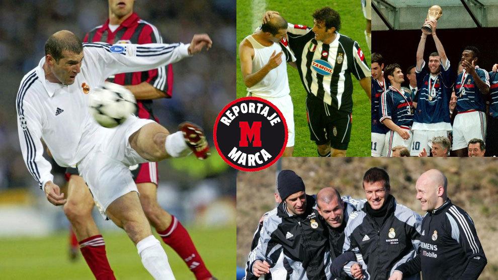 """Yo jugué con Zidane: """"Era imposible no quererlo"""""""