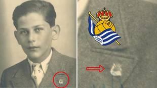 La misteriosa insignia de la Real Sociedad en la solapa de una víctima de Auschwitz