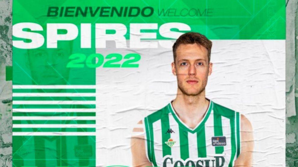 Nick Spires ficha por el Coosur Betis hasta 2022