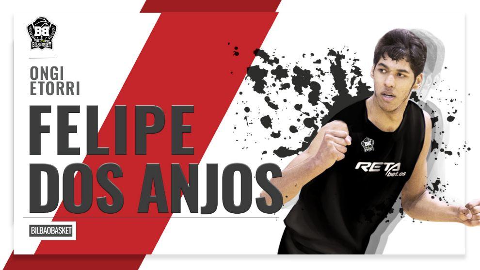 El Bilbao Basket cierra la plantilla con el pívot brasileño Felipe Dos Anjos