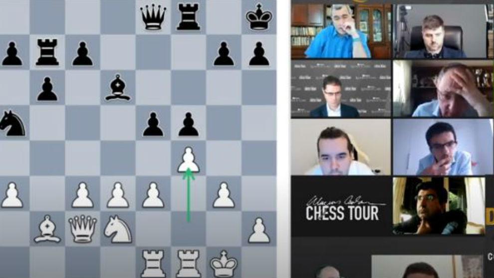 Segunda jornada del Chess24.com Leyendas del Ajedrez.