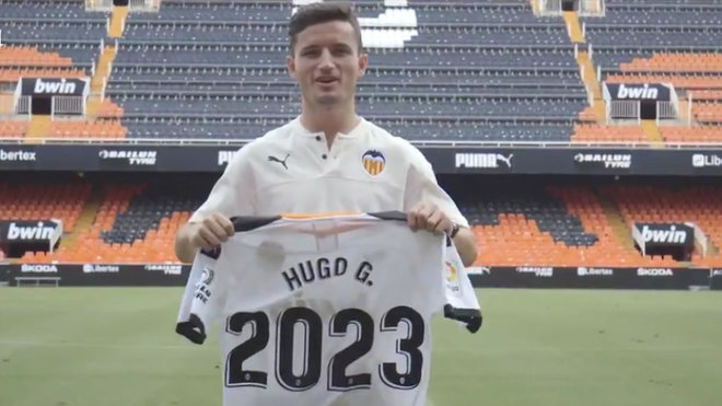 Valencia tie Hugo Guillamon down until 2023