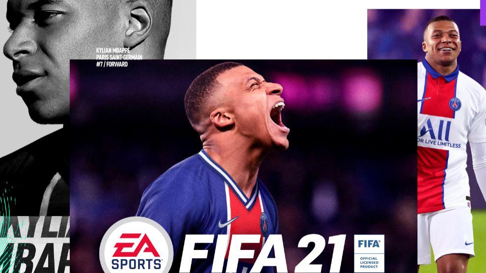 Mbappé, portada del FIFA 21