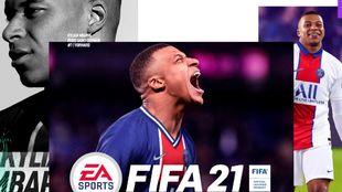 Mbappé es el protagonista de la portada de FIFA 21