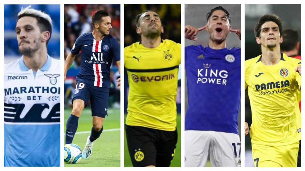 Los máximos goleadores españoles de las cinco grandes ligas