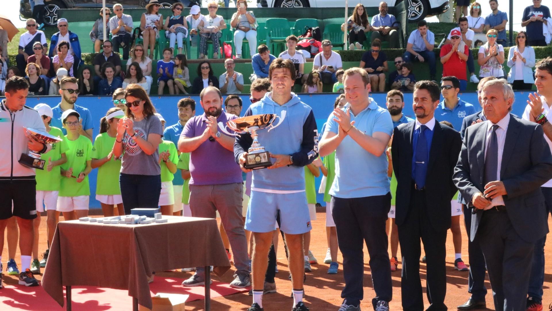 Carlos Berlocq venció en la final de 2019 a Nicolás Almagro