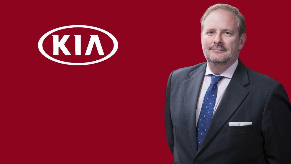 Eduardo Divar, Director General de Kia Motors Iberia.