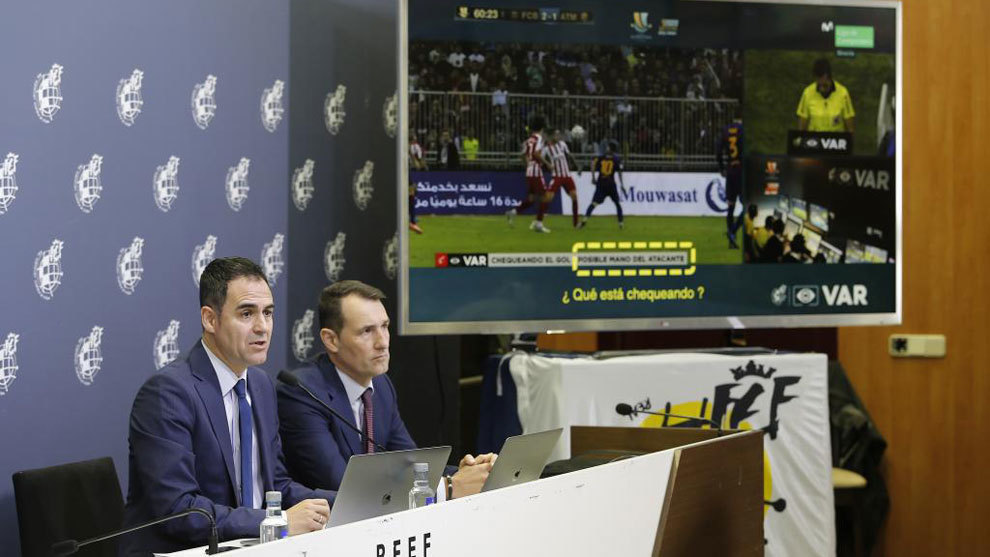 Spain's refereeing chief addresses VAR concerns and controversy