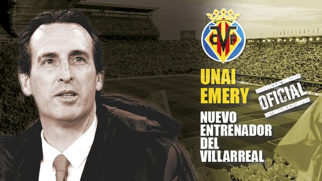 Oficial: Unai Emery, nuevo entrenador del Villarreal