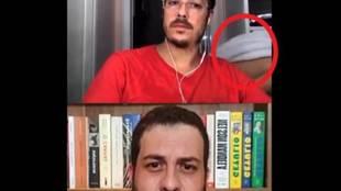 """La pillada en la TV brasileña que arrasa: """"Cari, todo el mundo te ha visto desnuda..."""""""