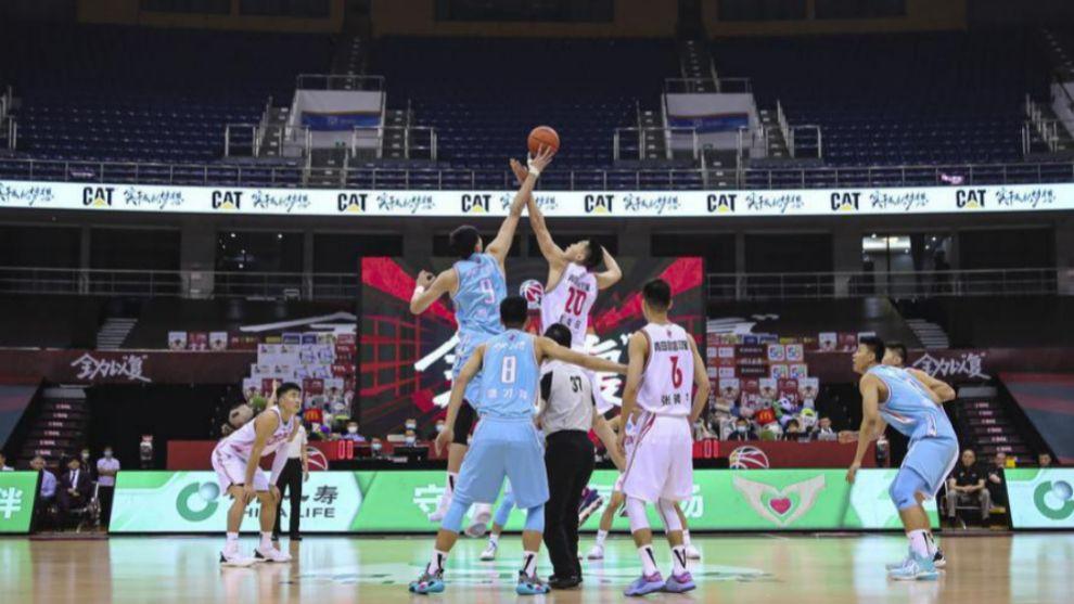 La liga china anuncia que vuelve a jugar partidos con público esta semana