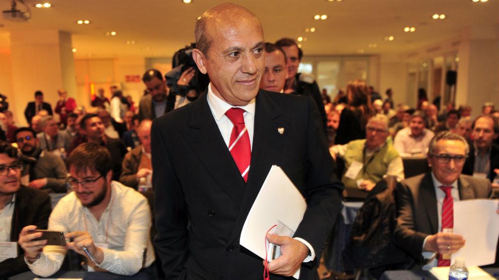 El ex presidente sevillista José María del Nido (62).