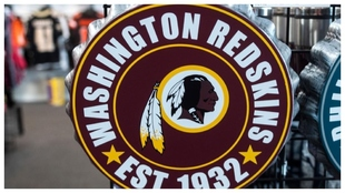 El escudo de los Washington Redskins