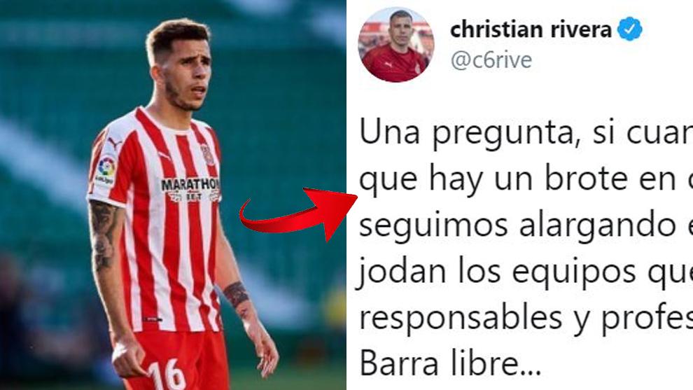 """Rivera, del Girona, explota por el 'Fuenlagate': """"Que se jodan los que han sido responsables..."""""""