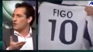 """El día que Futre desveló cómo se fraguó el fichaje de Figo: """"Él dijo que no iba al Real Madrid"""""""