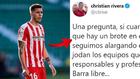 """Rivera, del Girona, explota por el 'Fuenlagate': """"Que se jodan los  responsables..."""""""