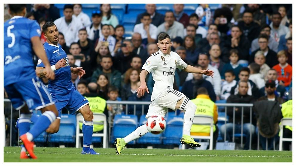 Osasuna go after Real Madrid's Fran Garcia