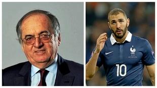 """Benzema no se 'cree' al presidente de la francesa: """"Prefiero reírme"""""""