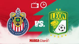 Horario y dónde ver en vivo el Chivas vs León de la Jornada 1 del...