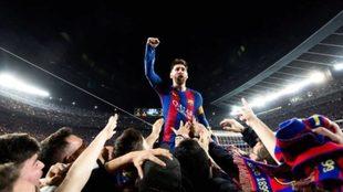 Saca la mejor foto de la carrera de Messi... ¡Y el Barça rescinde su contrato!