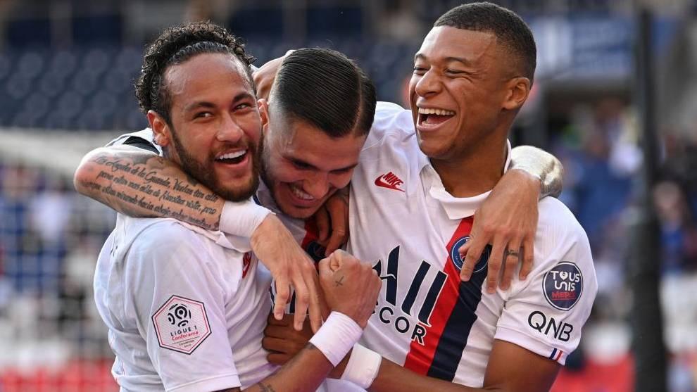 PSG - Saint-Étienne, en directo