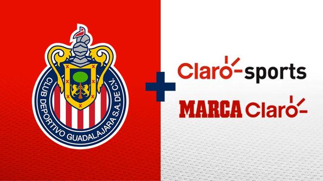Chivas, Claro Sporst y MARCA Claro firman histórica alianza.