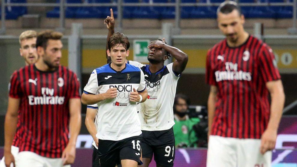 El Milan de Pioli frena a la Atalanta y la Juventus se acerca aun más al 'Scudetto'
