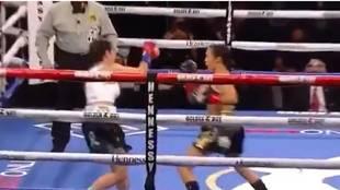 ¡Histórico KO en sólo 7 segundos de Estrada a Adkins: el más rápido del boxeo femenino!