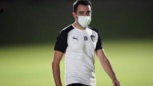 Xavi Hernández, técnico de Al Sadd