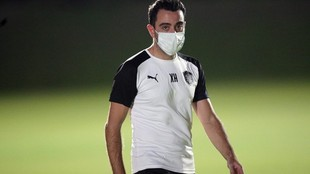 Xavi Hernández, técnico español de Al Sadd de Qatar.