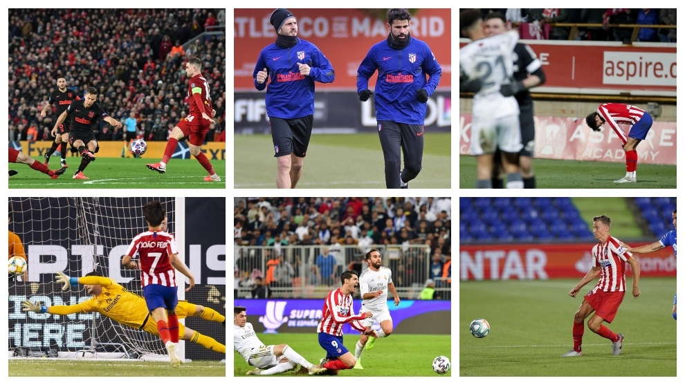 Atletico Madrid A Look At The More Memorable Moments Of Atletico Madrid S Transitional 2019 20 Season Marca In English